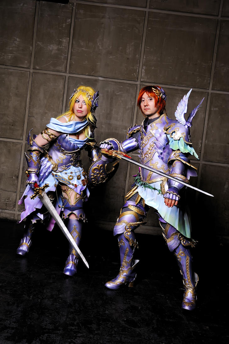Freya and Frey. by Shoko-Cosplay