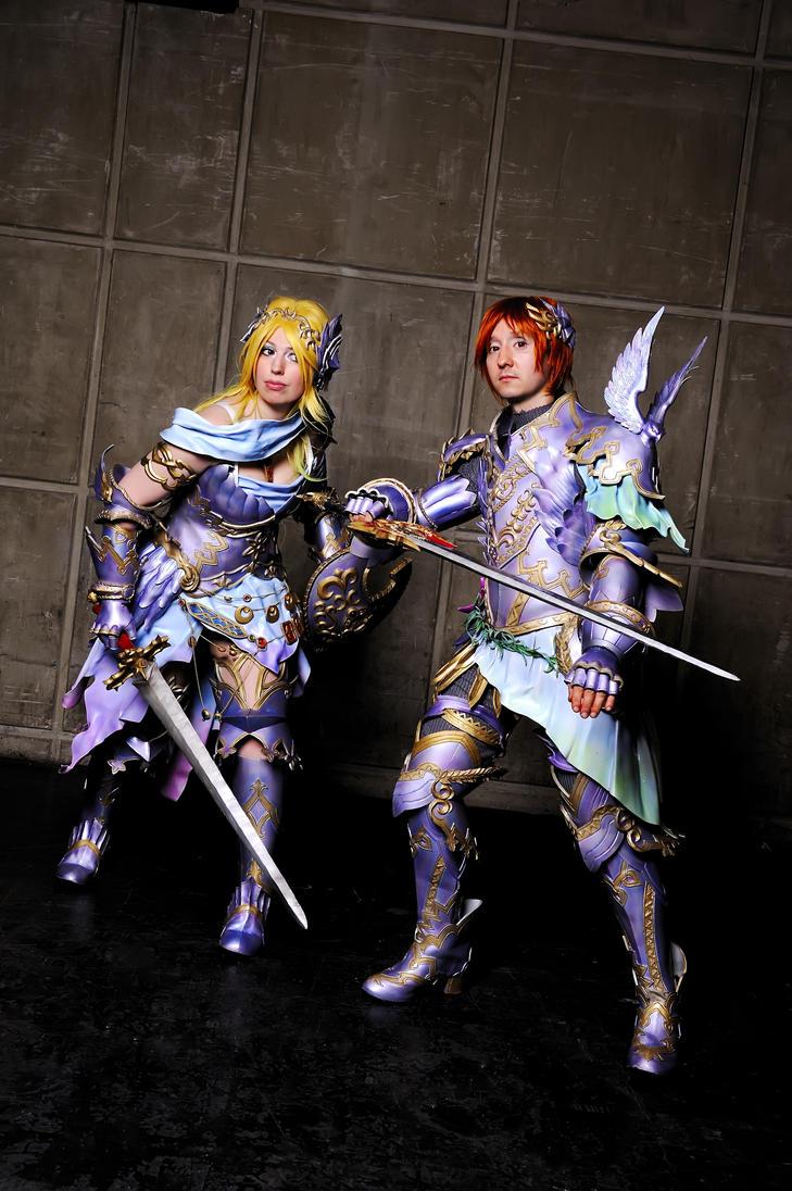 Freya and Frey. by Shoko-Cosplay
