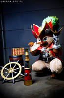 Legendary J anchor - Felyne by Shoko-Cosplay