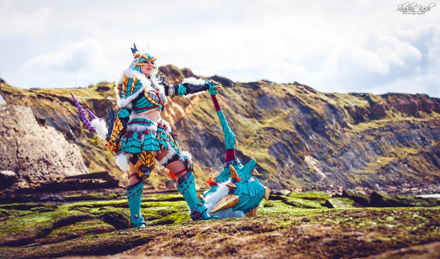 Jinouga armor. by Shoko-Cosplay