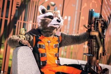 Guardians of the galaxy  Rocket Raccoon by Shoko-Cosplay