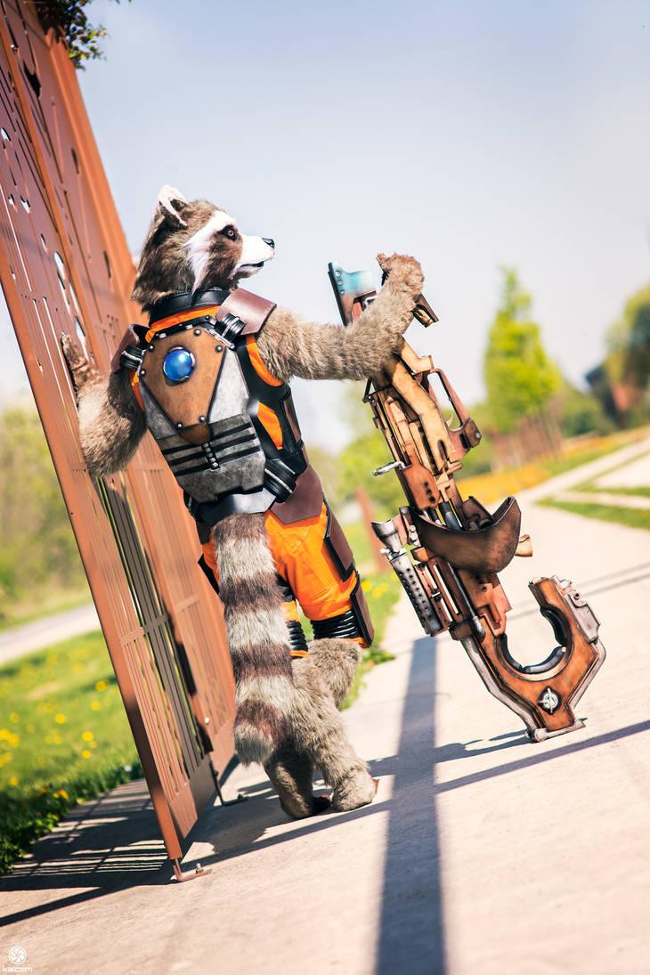 Guardians of the galaxy    Rocket by Shoko-Cosplay