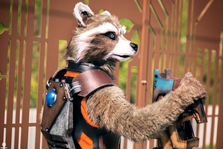 Rocket Raccoon by Shoko-Cosplay