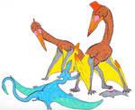 Ropen meets actual giant scavenging pterosaurs