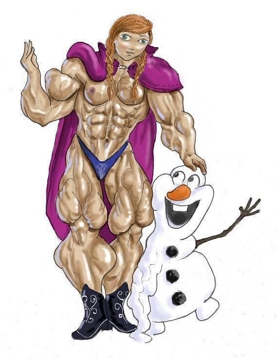 Olaf and Friend by feenix501