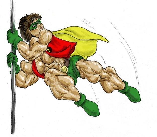 Robin in Action by feenix501