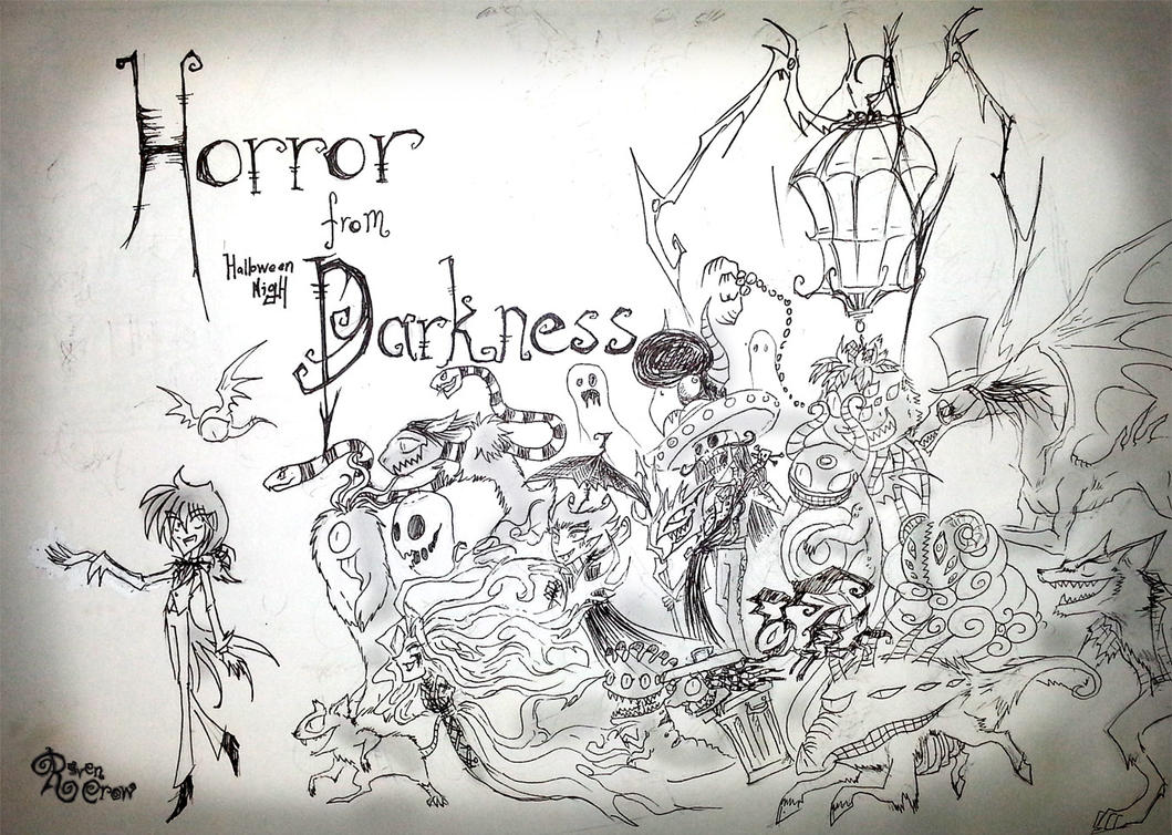 Horror From Darkness : Halloween Nigh (cover) by RavenBlackCrow