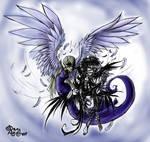 Comission 16716 Somnium meets Raven by RavenBlackCrow