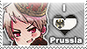 APH: I love Prussia Stamp by Chibikaede