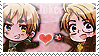 APH: Arthur x Alfred Stamp
