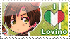 APH: I love Lovino Stamp by Chibikaede