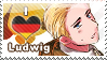 APH: I love Ludwig Stamp by Chibikaede