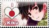APH: I love Kiku Stamp