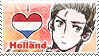 APH: I love Holland Stamp by Chibikaede