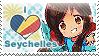 APH: I love Seychelles Stamp