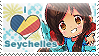 APH: I love Seychelles Stamp by Chibikaede