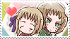 APH: Liech x Vash Stamp by Chibikaede