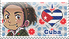 APH: I love Cuba Stamp by Chibikaede