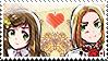 APH: Elizabeta x Feliks Stamp by Chibikaede