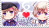 APH: Norway x Iceland Stamp by Chibikaede