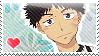 Oofuri: Abe Stamp