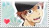 Oofuri: Mizutani Stamp by Chibikaede