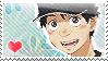 Oofuri: Oki Stamp by Chibikaede