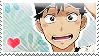 Oofuri: Nishihiro Stamp by Chibikaede