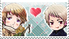 APH: Ivan x Gilbert Stamp by Chibikaede