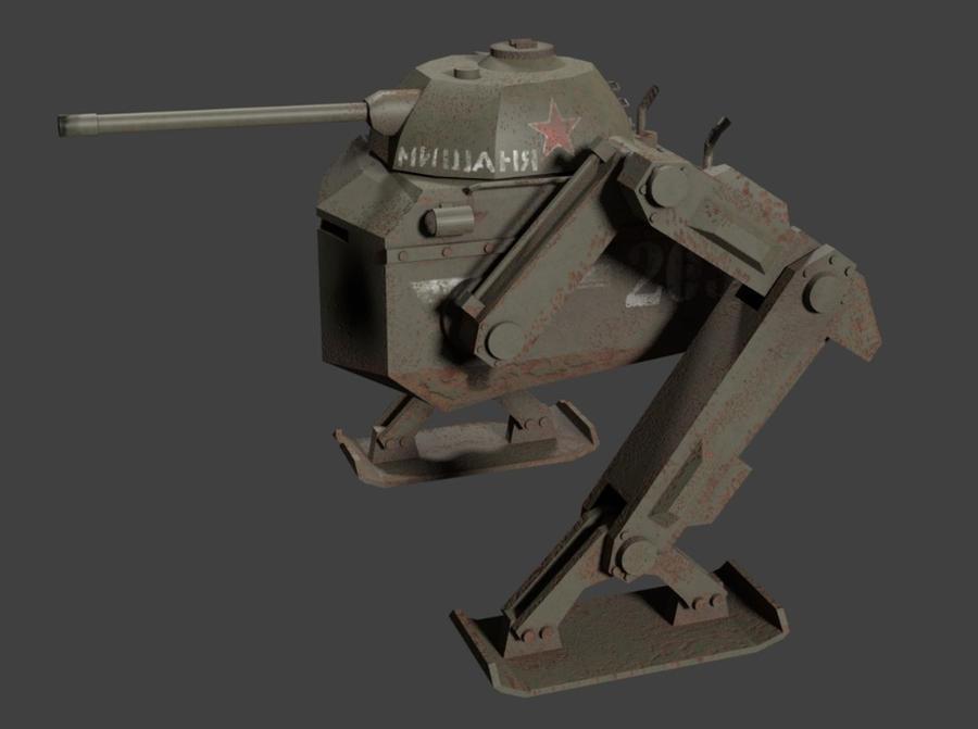 Soviet Walker Mishanya by pakomako