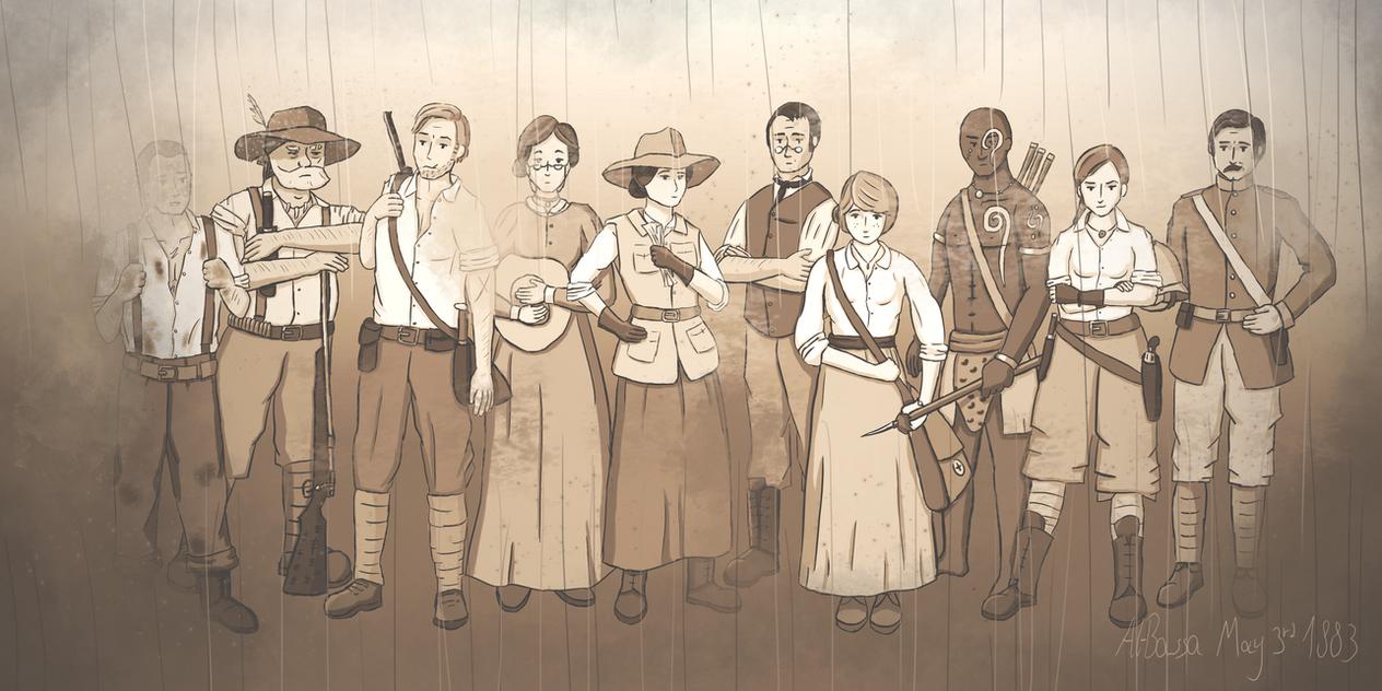 Expediton Squad 1883 by pakomako