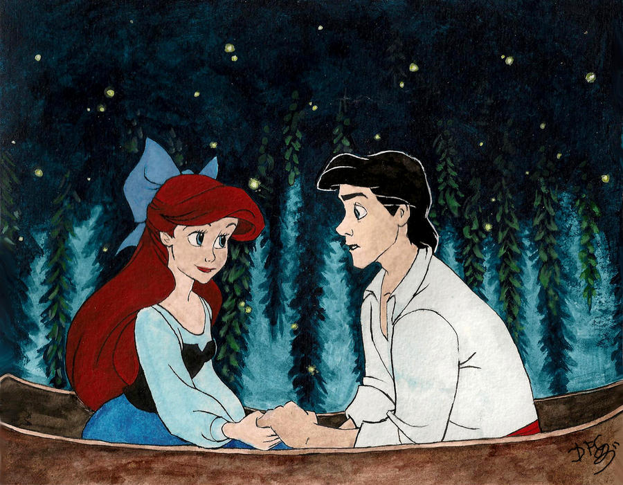 Little mermaid kiss the girl lyrics
