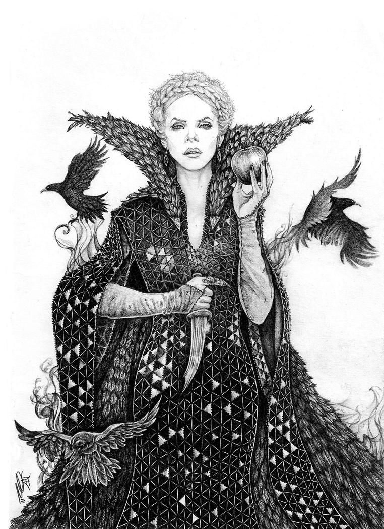 Twisted tales: Evil Queen Ravenna SWATH by danielfoez on ...