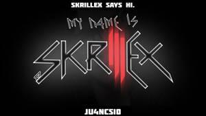 Skrillex Says Hi.