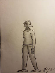 Emberly wearing a sweater by TGMProductions