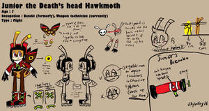 Junior the Death's head Hawkmoth