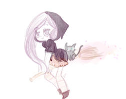 a witch by BukkMint
