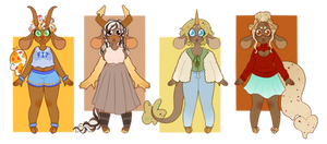 Ice Cream Cow Guest Artist Adopts - OPEN