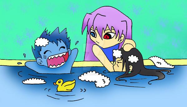 BTA Bath Time by Bubblecat
