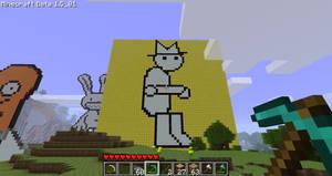 Ben Yahtzee in Minecraft