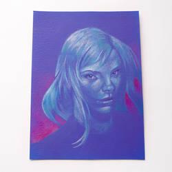 Royal Blue original illustration