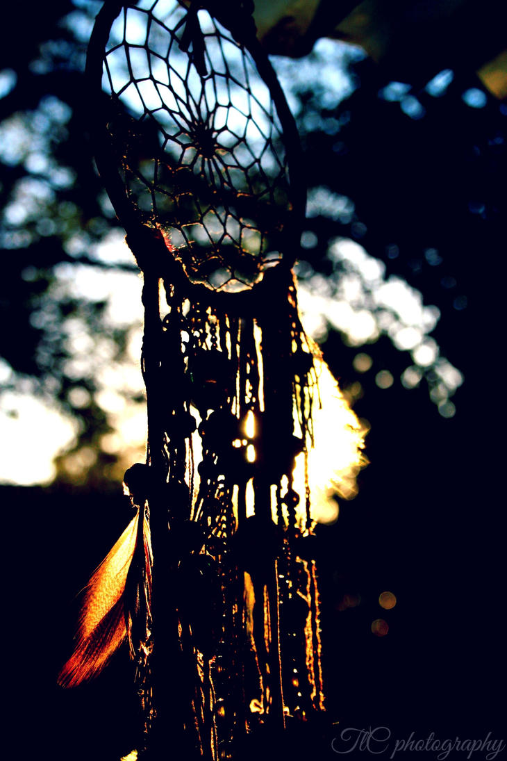 Dream catcher silhouette by TlCphotography730