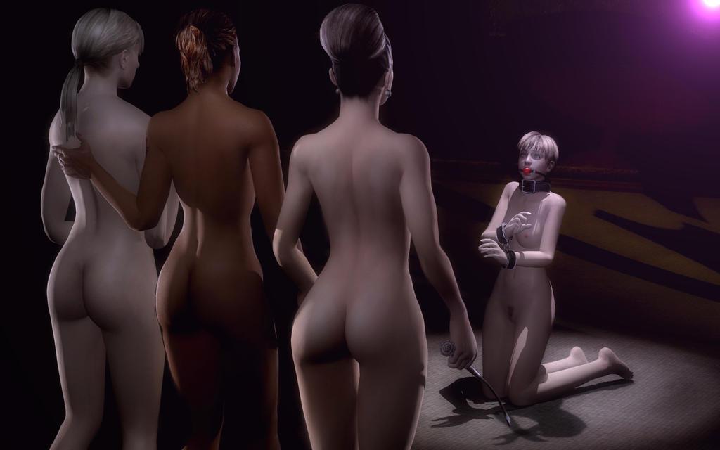 Resident Evil Naked Chicks