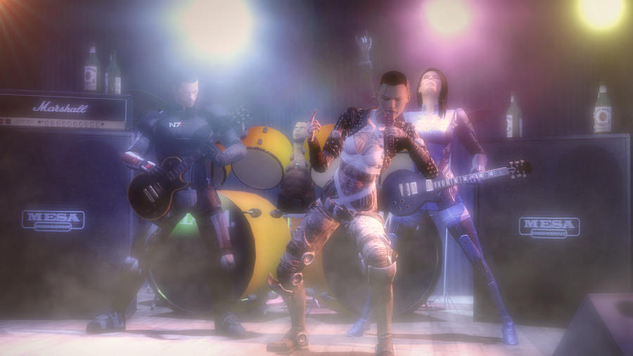 Mass Effect - Musical Past by Rastifan