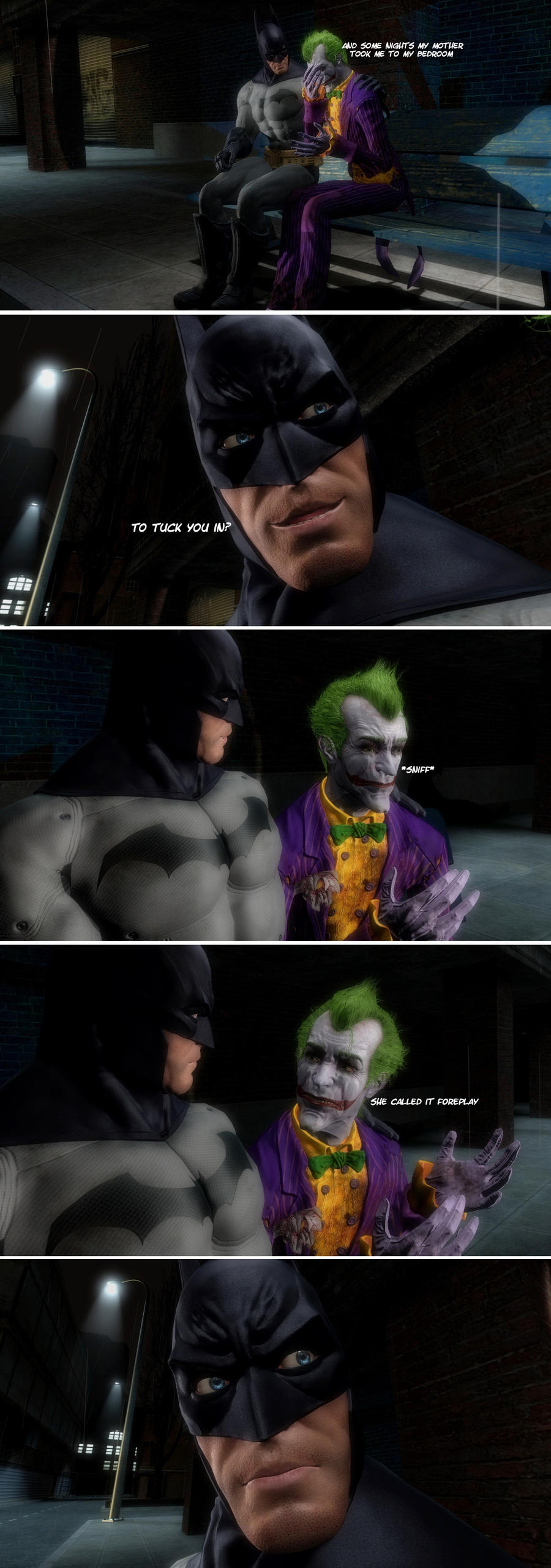 Batman And Joker In - The Talk by Rastifan
