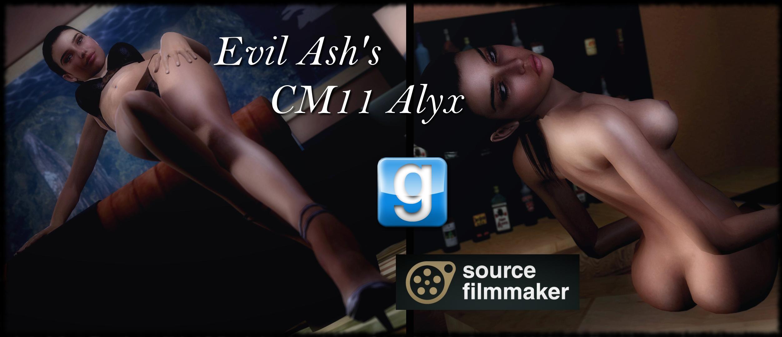 Gmod alyx nude model erotic clips