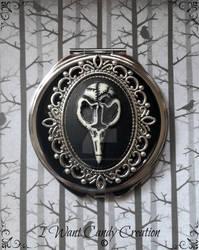 HANMADE - Raven Mirror by IWantCandyCreation