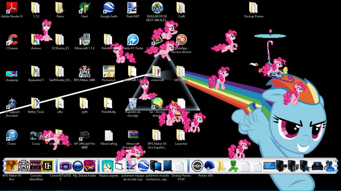 Desktop Ponies v1.41: Party Pinkie Pie by Dyahna