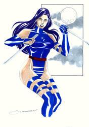 Psylocke by wardogs101