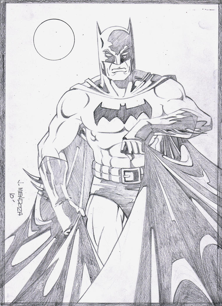 Batman Pencils by wardogs101 on DeviantArt